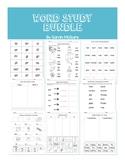 Word Study Bundle - FULL YEAR!