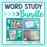 Word Study Bundle: Games & Other Resources