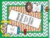 Word Study: Card Sort editable template