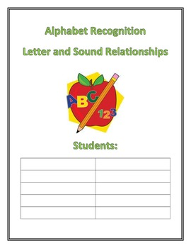 Word Study Center Posters: Alphabet Recognition