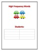 Word Study Center Posters: High Frequency Words