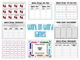Word Study Centers for short u, long u, and r-control u
