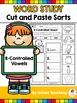 Phonics Cut and Paste Sorts COMPLETE BUNDLE