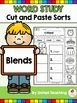 Word Study Cut and Paste Sorts COMPLETE BUNDLE