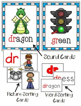 Word Study DR and GR Blends
