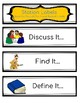 Word Study Daily Rotation Station Packet