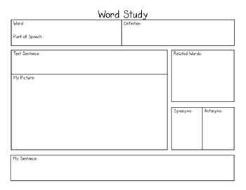Word Study Direct Interactive Instruction