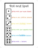 Word Study Game - Roll and Spell
