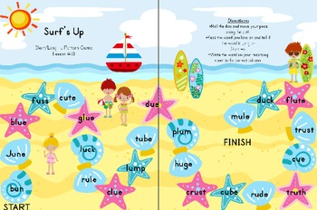 Word Study Games 31-34 (Within Word Stage)