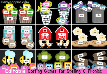 Word Study Printables - Write & Wipe