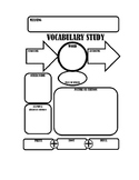 Word Study Graphic Organizer