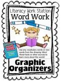 Word Study Graphic Organizer Task Cards