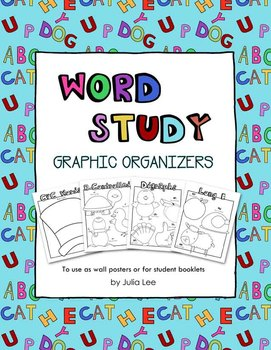 Word Study Graphic Organizers