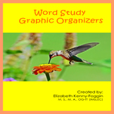 Word Study Graphic Organizers and Worksheets