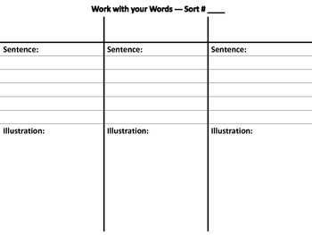 Word Study Journal - Primary Grades or Modified for Intermediate