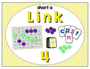 Word Study / Literacy Center - Link 4: Short o Word Famili
