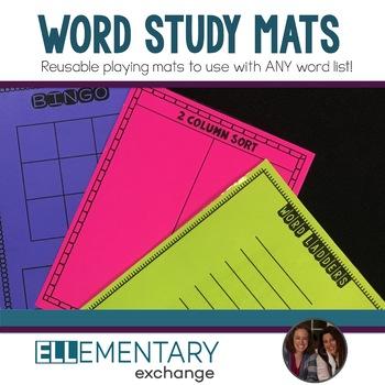 Word Study Mats