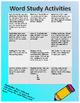 Word Study Mega Pack-No Prep!! First Grade