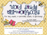 Word Study Mini-Books {Long vowels, Diphthongs, Bossy R, Word Sorts}