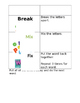 Word Study Notebook Directions