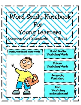 Word Study Notebook for Young Learners - 1st gr.