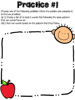 Word Study Packet