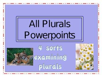 Word Study Plurals Powerpoints
