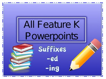 Word Study Powerpoint Lessons: Syllable Juncture Feature K