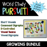 Word Study Pursuit Game: The GROWING Bundle
