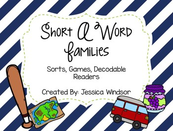 Word Study & Resources - Short A
