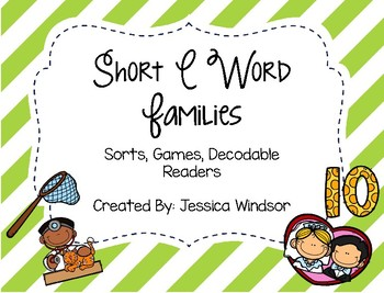 Word Study & Resources - Short E