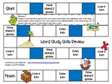 Word Study Skills Review Game Grade 2