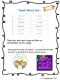 Word Study Sort - Long Vowel /u/ and /oo/