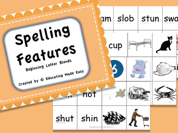 Word Study Spelling Features: Beginning Blends
