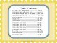 Word Study Spelling Features: Short Vowels