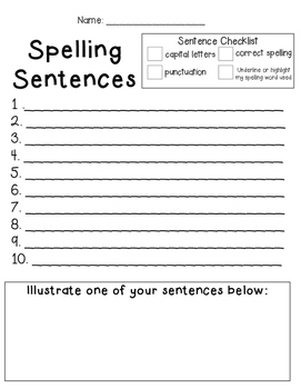 word study spelling practice worksheets by the teacher creature tpt. Black Bedroom Furniture Sets. Home Design Ideas