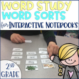 Word Study Spelling Word Sorts 2nd grade Phonics Distance