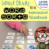 Word Study Spelling Word Sorts Whole School License K-5 BUNDLE