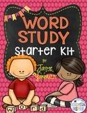 Word Study Starter Kit