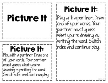 Word Study Stations Directions, Labels, and Recording Sheets for Any Word List