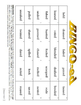 Word Study Syllable Juncture Stage, Feature K Sort 2