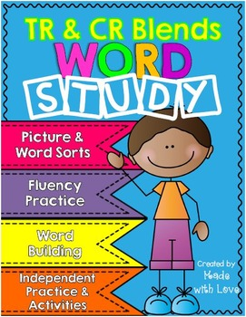 Word Study TR and CR Blends