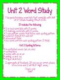 Word Study Unit 2
