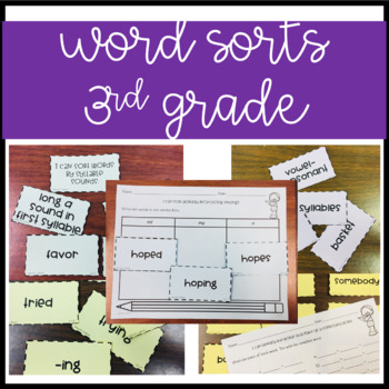 Word Study Unit 5 {3rd Grade}