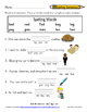Word Study Unit 8: -ed / -eg / -en
