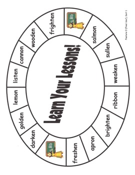 Word Study Unit Materials - Feature O (Unstressed Vowel Patterns) Sorts, SJ