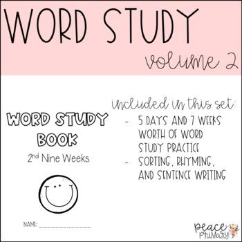 Word Study:: Volume 2