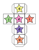 Word Study- Vowel Combination Game - Shaking Stars