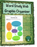 Word Study Web Graphic Organizer Template