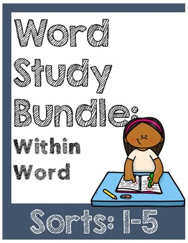 Word Study Within Word Sorts 1 - 5